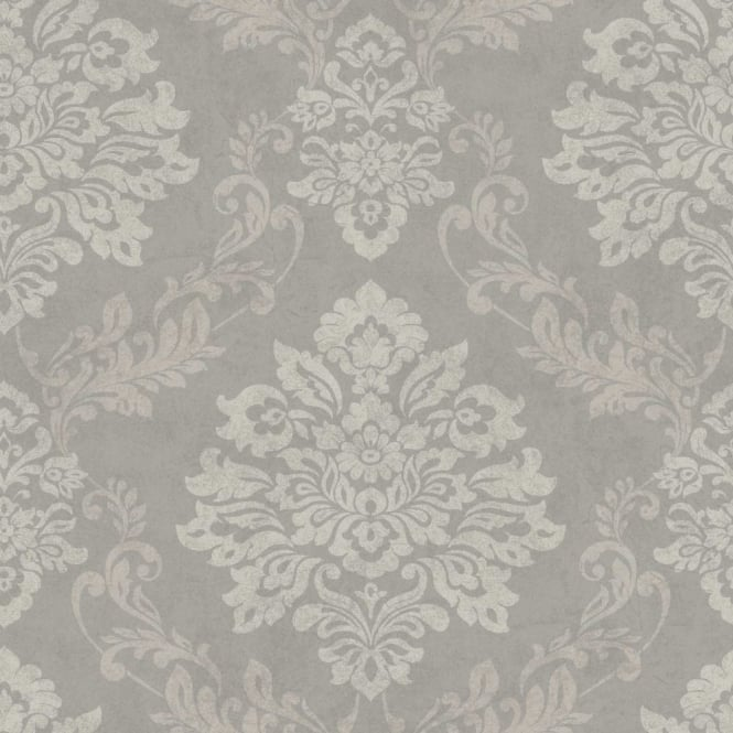 Arthouse Palazzo Damask Pattern Textured Vinyl Glitter Motif Wallpaper 290402