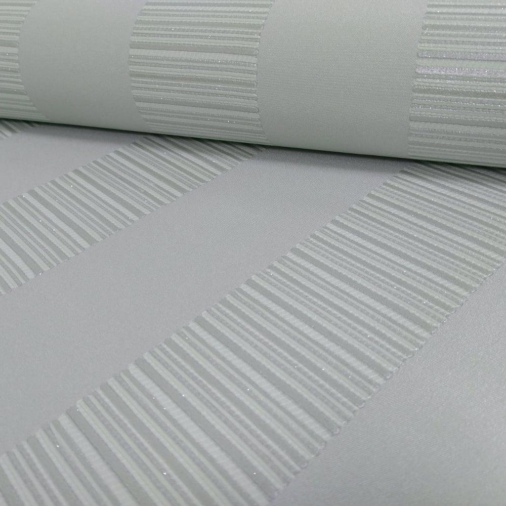 Arthouse Ravello Stripe Wallpaper Glitter Motif 262006