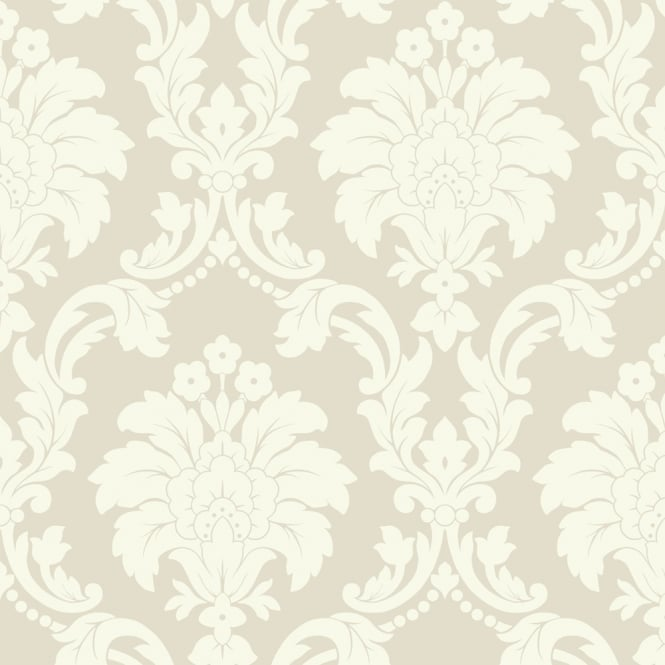 Arthouse Romeo Damask Pattern Wallpaper Modern Metallic Floral Motif 693502