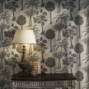 Arthouse Sophie Conran Coconut Grove Tropical Trees Pattern Wallpaper Leaf 950609