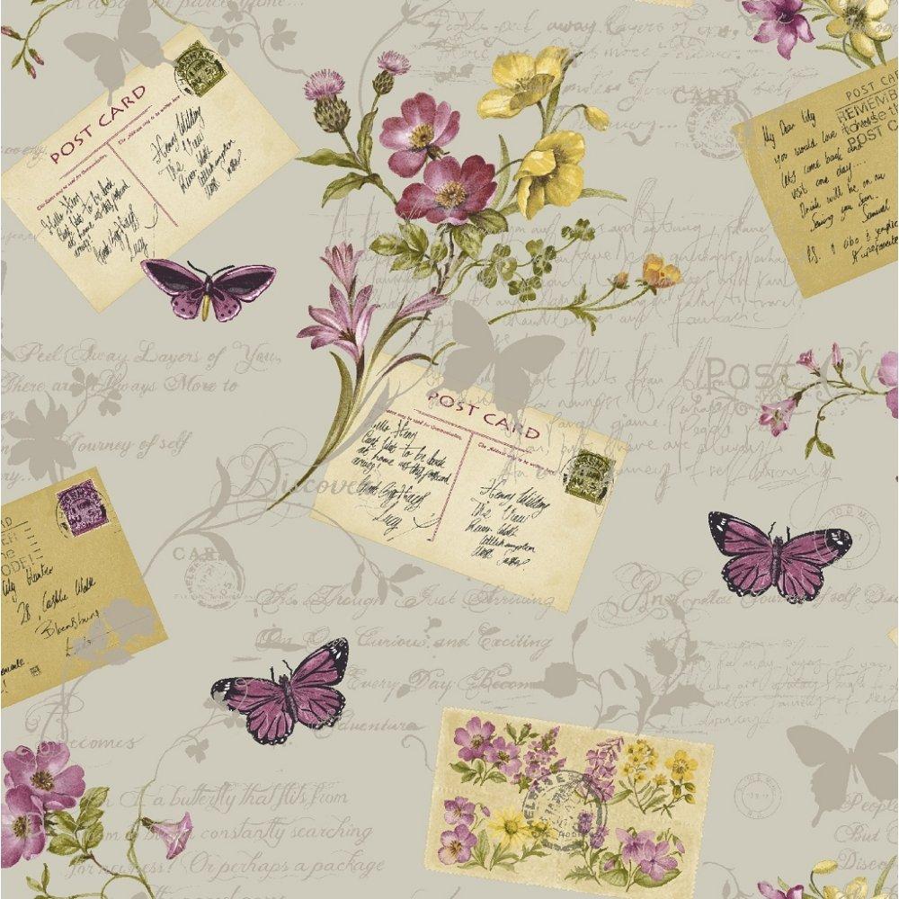 Arthouse sophie conran postcards home wallpaper 950903 - Art house wallpaper uk ...