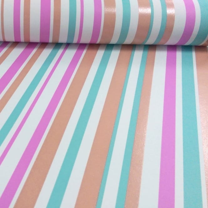 Arthouse Sparkle Stripe Pattern Glitter Motif Striped Colour Wallpaper 668800