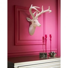 Arthouse Star Studded Stag Head Diamante Deer Mountable Wall Art Pearl 008215
