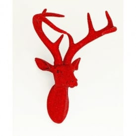 Arthouse Star Studded Stag Head Diamante Deer Mountable Wall Art Ruby 008220