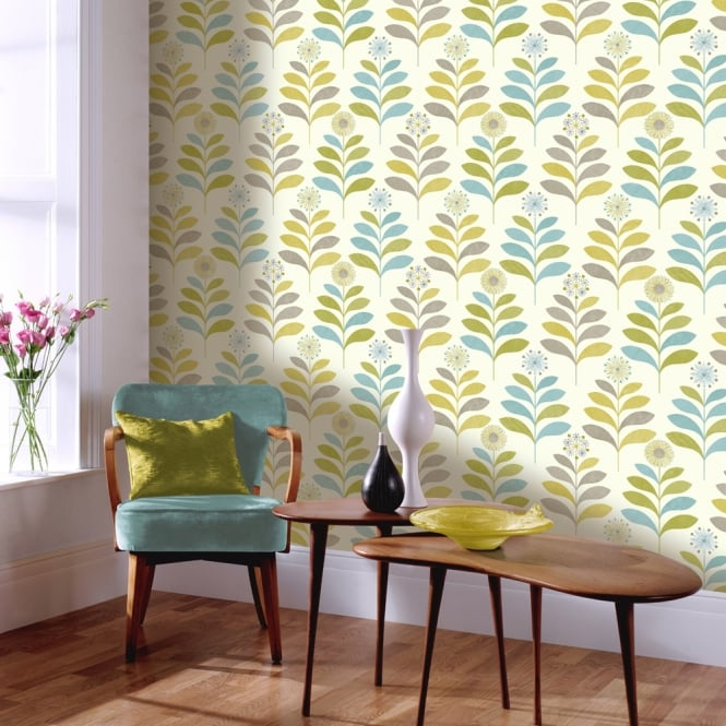 Arthouse Tamara Leaf Pattern Modern Metallic Leaves Floral Motif 693302
