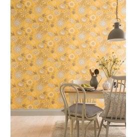 Yellow Wallpaper Mustard Wallpaper I Want Wallpaper
