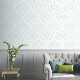 Arthouse Vintage Damask Pattern Wallpaper Modern Embossed Glitter Marble Motif 891200