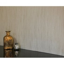 Arthouse Vintage Vicenza Plain Stripe Metallic Glitter Vinyl Wallpaper 270502