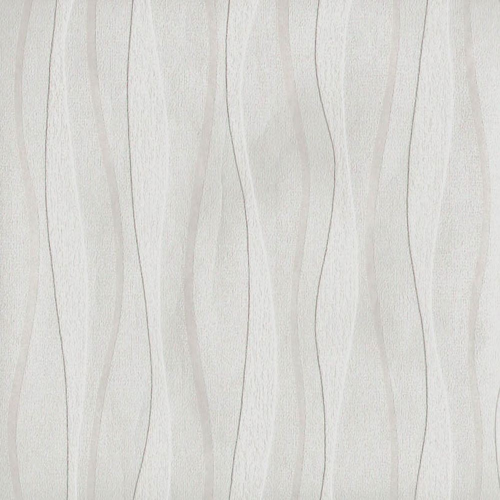 Arthouse Wave White Blown Vinyl Texture Stripe Paintable Wallpaper 823105