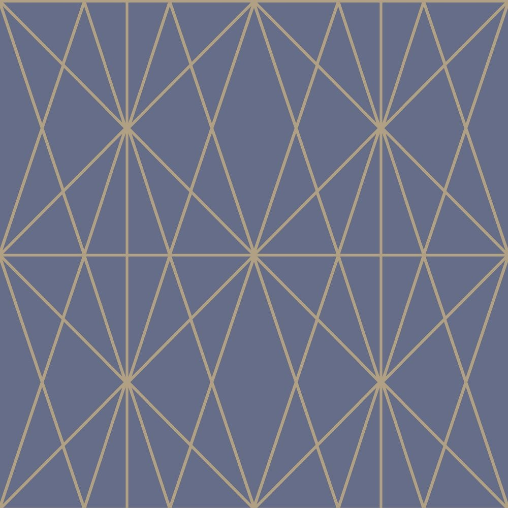 Web Geo Metallic Geometric Triangle Smooth Pattern Modern Wallpaper 902903
