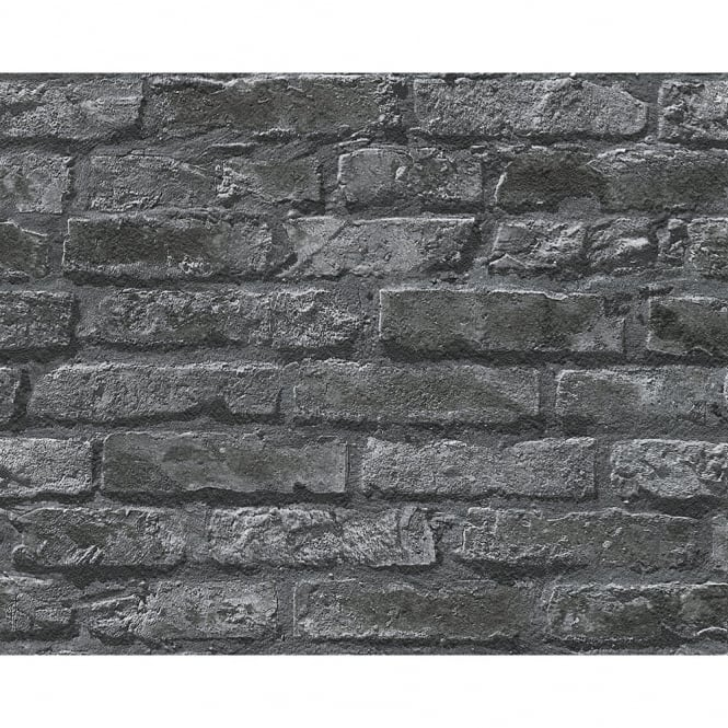 A.S. Creation AS Creation Brick Wall Pattern Faux Effect Embossed Non Woven Wallpaper 954701