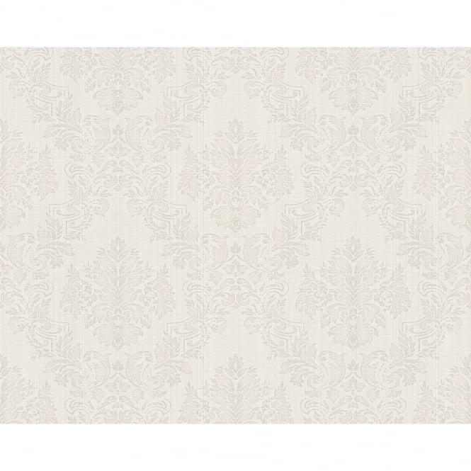 A.S. Creation AS Creation Classic Baroque Damask Pattern Floral Motif Textured Wallpaper 304953