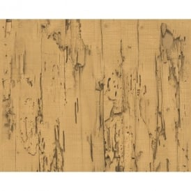 AS Creation Distressed Beech Wood Bark Faux Effect Embossed Wallpaper 954023