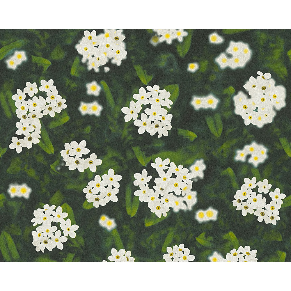 As Creation Flower Pattern Photographic Floral Non Woven