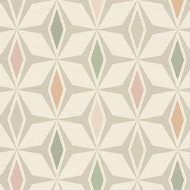 AS Creation Geometric Circle Pattern Wallpaper Retro Stripe Textured Motif Roll