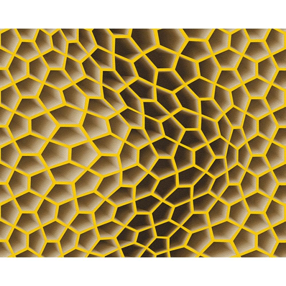 Yellow Honeycomb Background - Download Free Vectors ... |Yellow Honeycomb Wallpaper