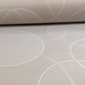 AS Creation Geometric Pattern Circles Glitter Trail Motif Textured Wallpaper 953422