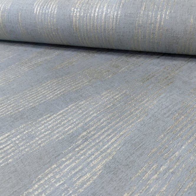 A.S. Creation AS Creation Plain Textured Pattern Wallpaper Modern Metallic Stripe Motif 306454