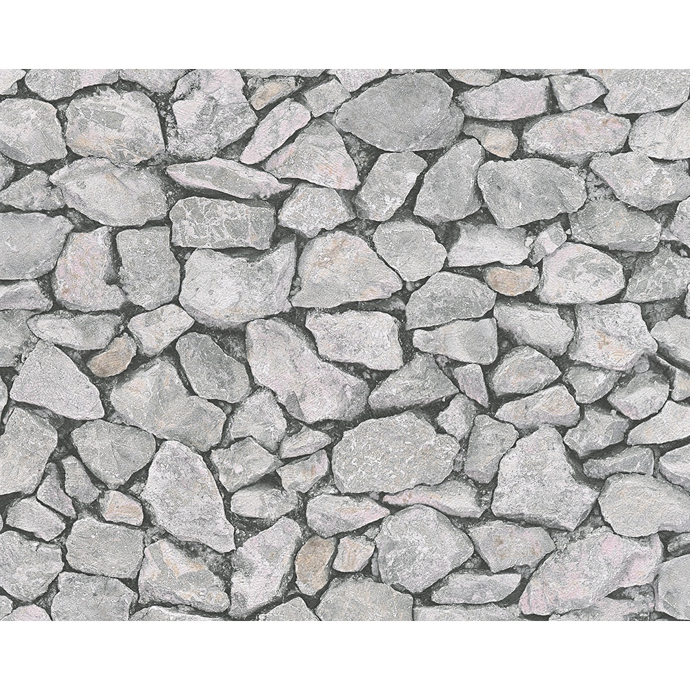 Stone Wall Pattern : As creation stone wall pattern realistic faux effect