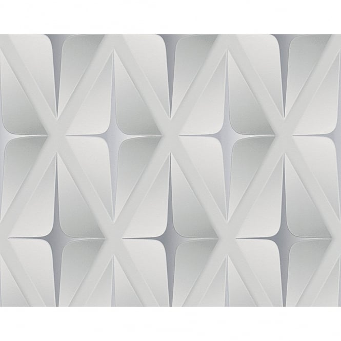 A.S. Creation AS Creation Striped Square Pattern 3D Effect Embossed Non Woven Wallpaper 960412