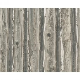 AS Creation Wood Beam Panel Pattern Faux Effect Tree Textured Wallpaper 958372