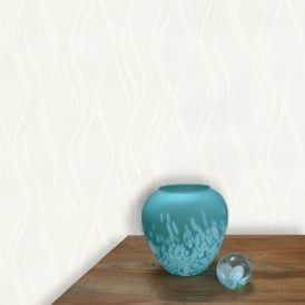 Belgravia Richmond Wave Stripe Pattern Paintable Embossed Wallpaper 5832