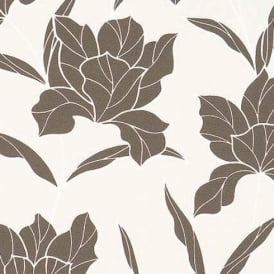 BN Wallcoverings Style Statement Floral Leaf Embossed Non-Woven Wallpaper 46272