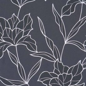 BN Wallcoverings Style Statement Floral Leaf Embossed Non-Woven Wallpaper 46275