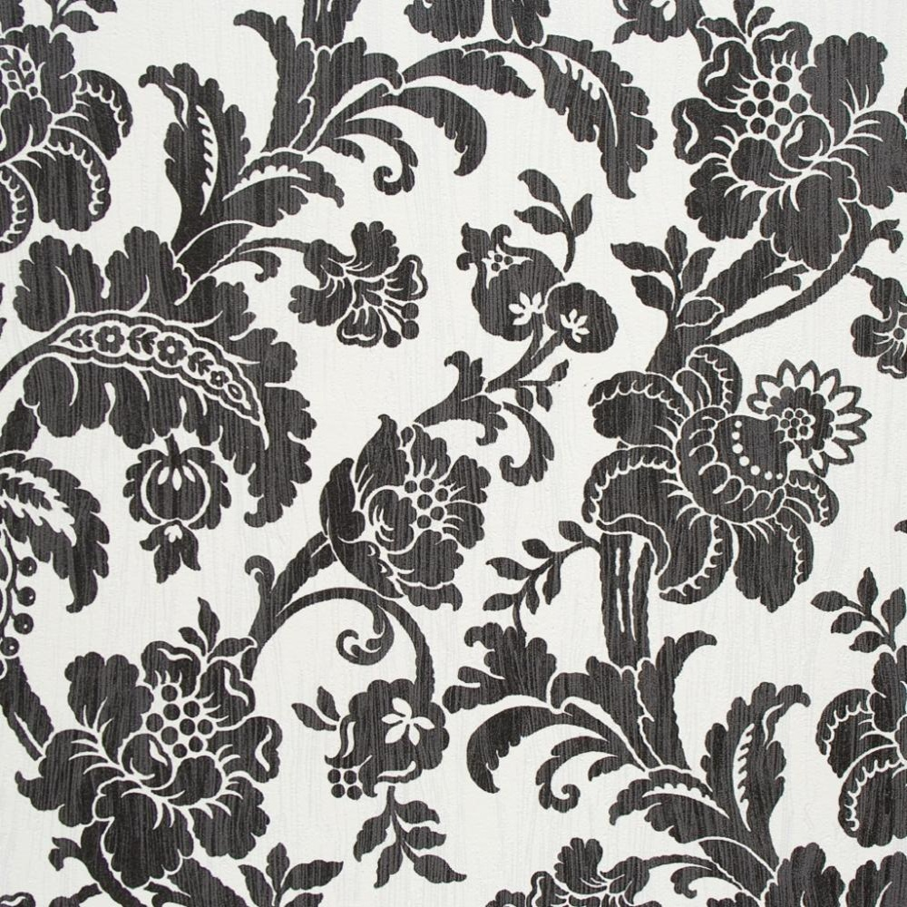 Luxury Bloomsbury Floral Textured Flower Wallpaper 49211