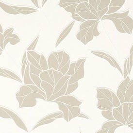 BN Wallcoverings Style Statement Floral Leaf Embossed Non-Woven Wallpaper 46271