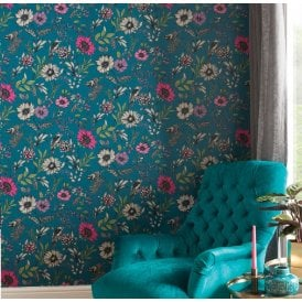 Blue & Teal Wallpaper at I Want Wallpaper