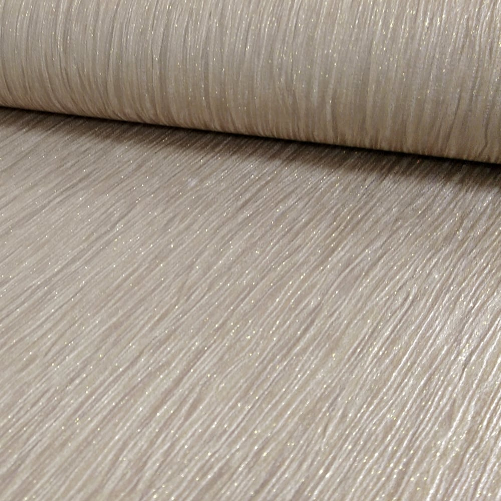 Debona crystal plain pattern textured stripe glitter motif for Striped vinyl wallpaper