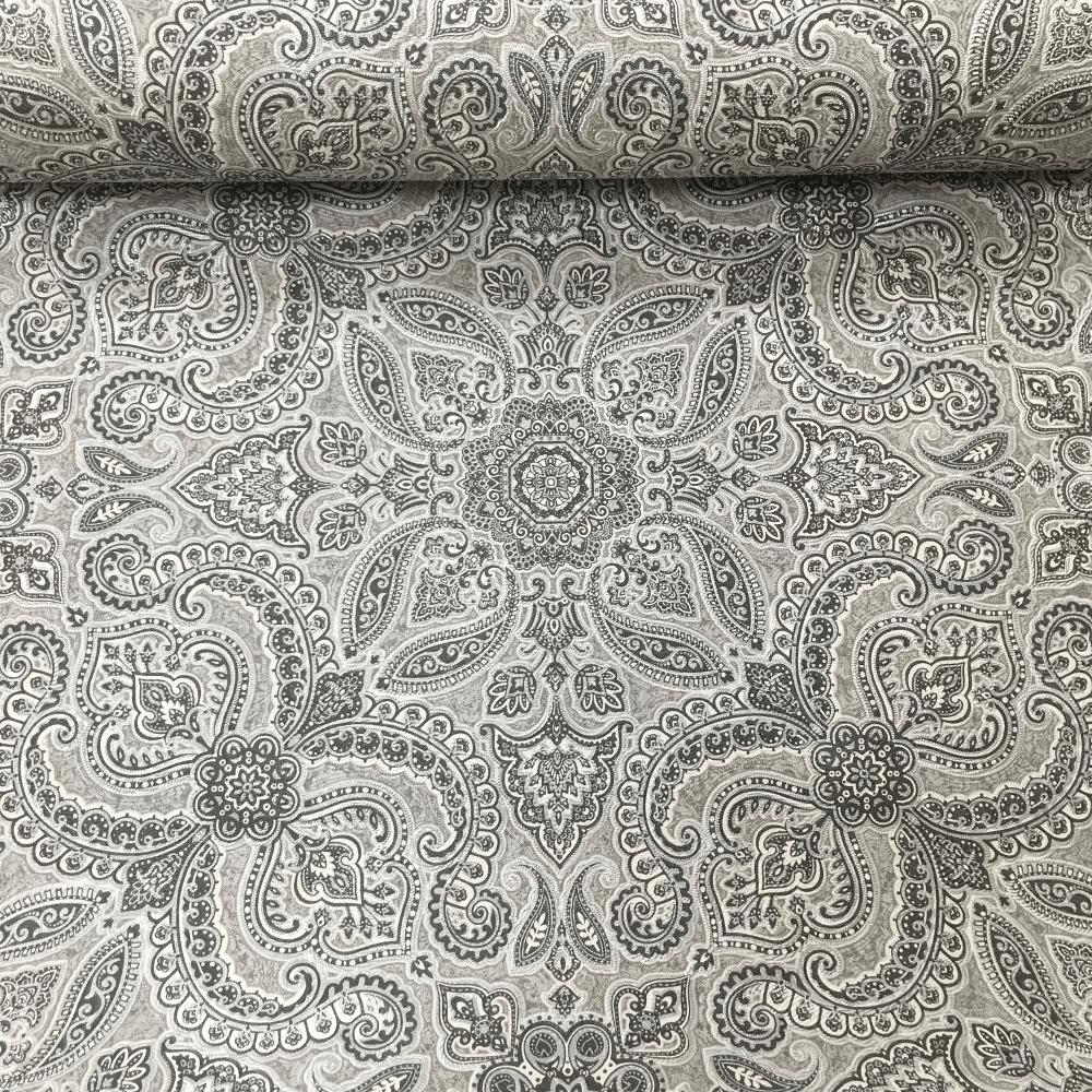 Exclusive Luxury Vinyl Persia Textured Paisley Decorative Flower Leaf Moroccan Pattern Wallpaper 9097