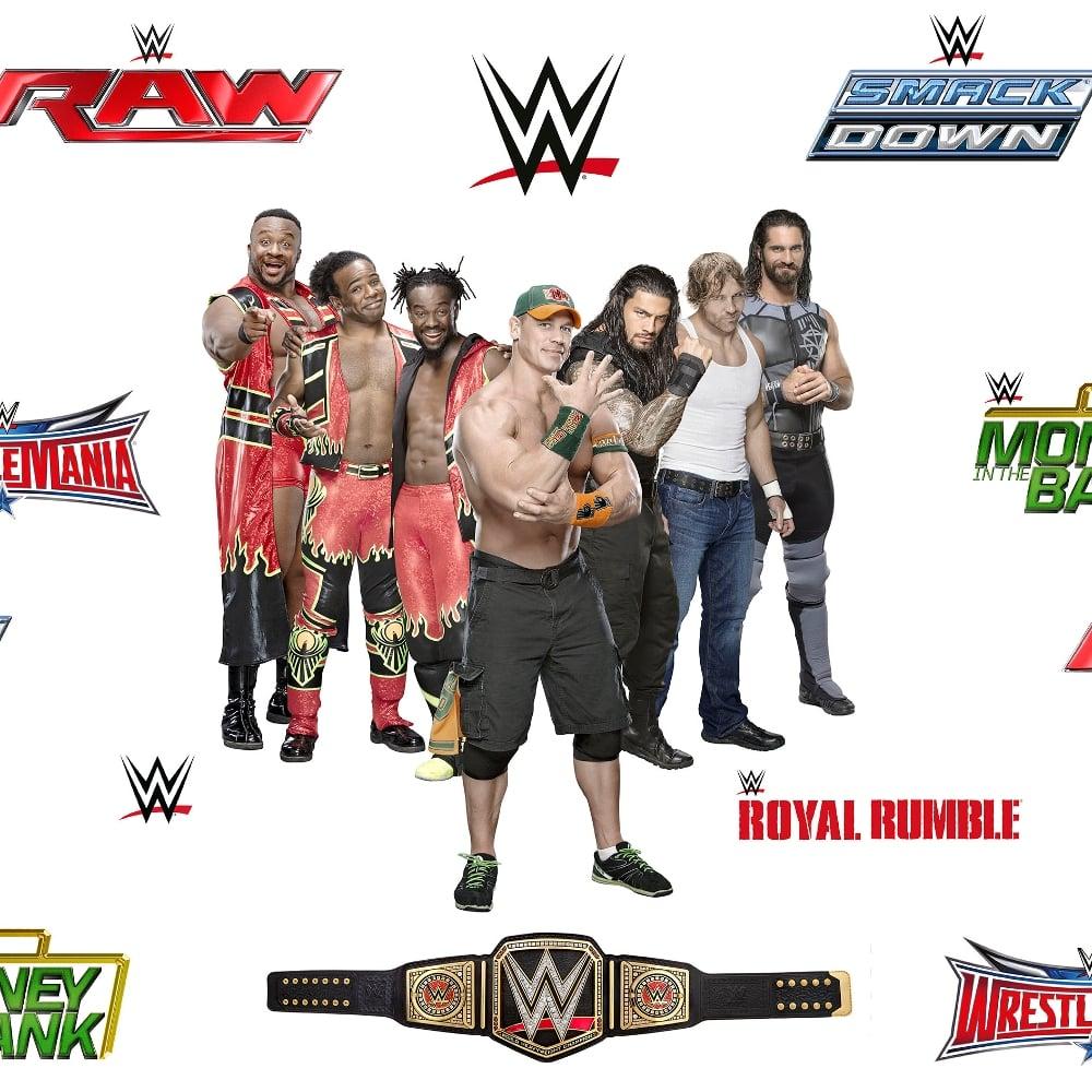 Official WWE John Cena Childrens Wallpaper Raw Wrestlemania