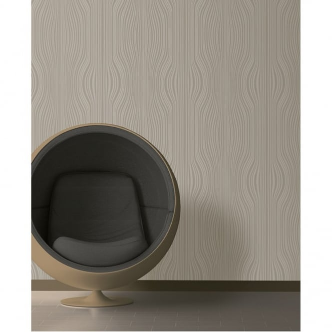 Debona Saphire Glitter Striped Motif Textured Designer Vinyl Wallpaper 2451