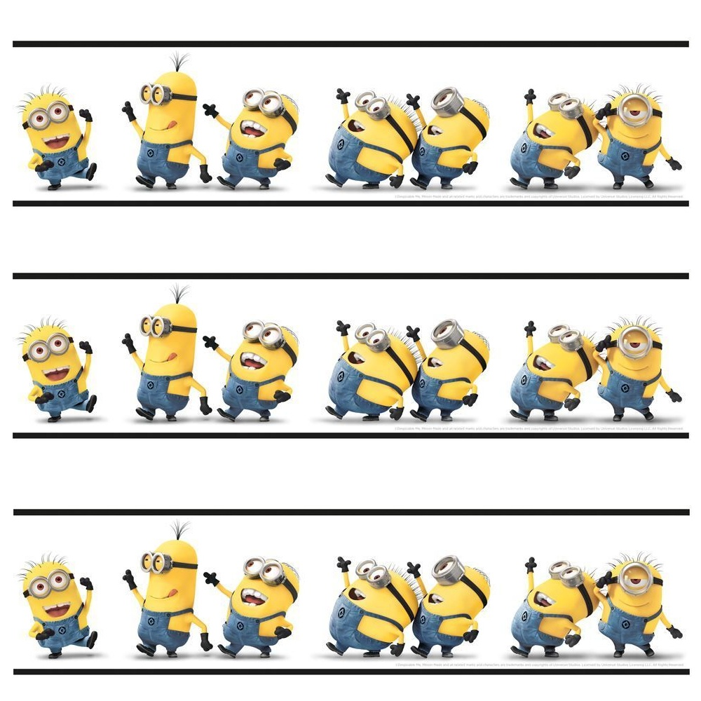 Despicable Me Minions Self Adhesive Official 5m Wallpaper