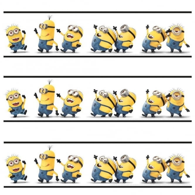 Disney Despicable Me Minions Self Adhesive Official 5m Wallpaper Border SA-DES-MIN-12