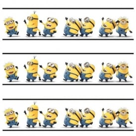 Despicable Me Minions Self Adhesive Official 5m Wallpaper Border SA-DES-MIN-12