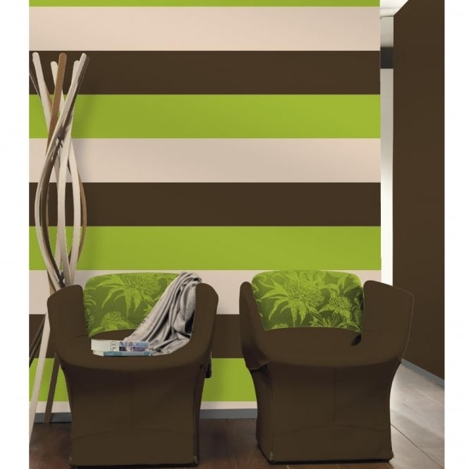 Direct Wallpapers Direct Stripe 3 Colour Striped Motif Textured Designer Vinyl Wallpaper E40904
