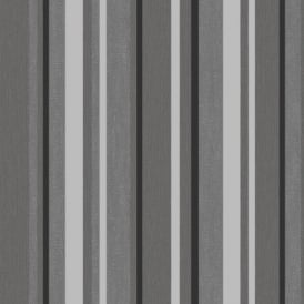 Direct Striped Textured Blown Vinyl Metallic Stripe Designer Wallpaper J48909