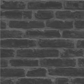 Decorpassion Rustic Brick Effect Wallpaper J34409