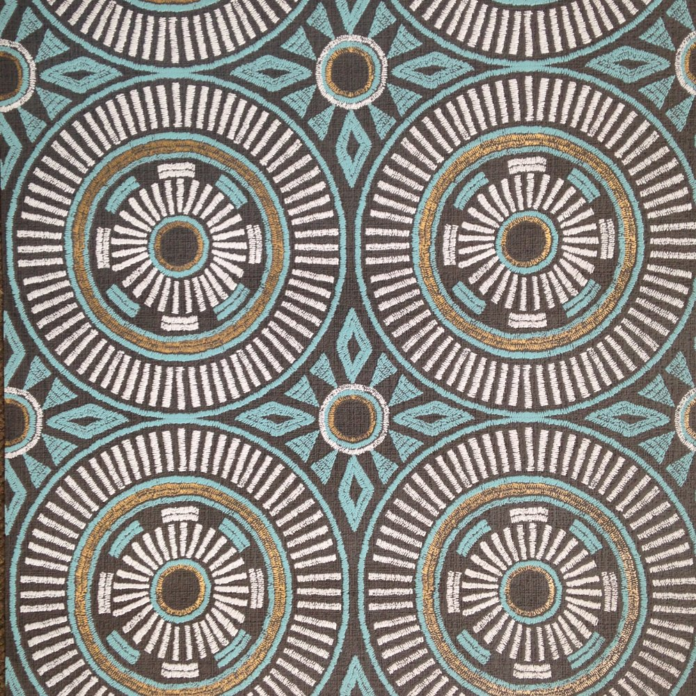 Direct aztec fabric style inca tribal motif vinyl for Wallpaper direct