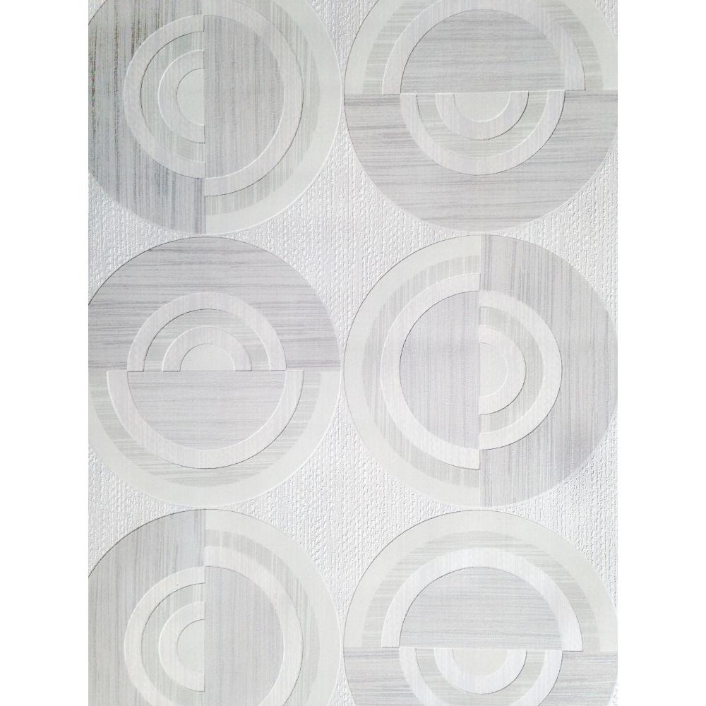 Direct Circle Eton Circles Motif Striped Textured Blown ...