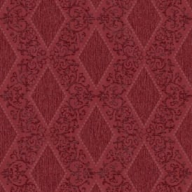 Direct Diamond Motif Striped Pattern Glitter Textured Blown Vinyl Wallpaper J47210