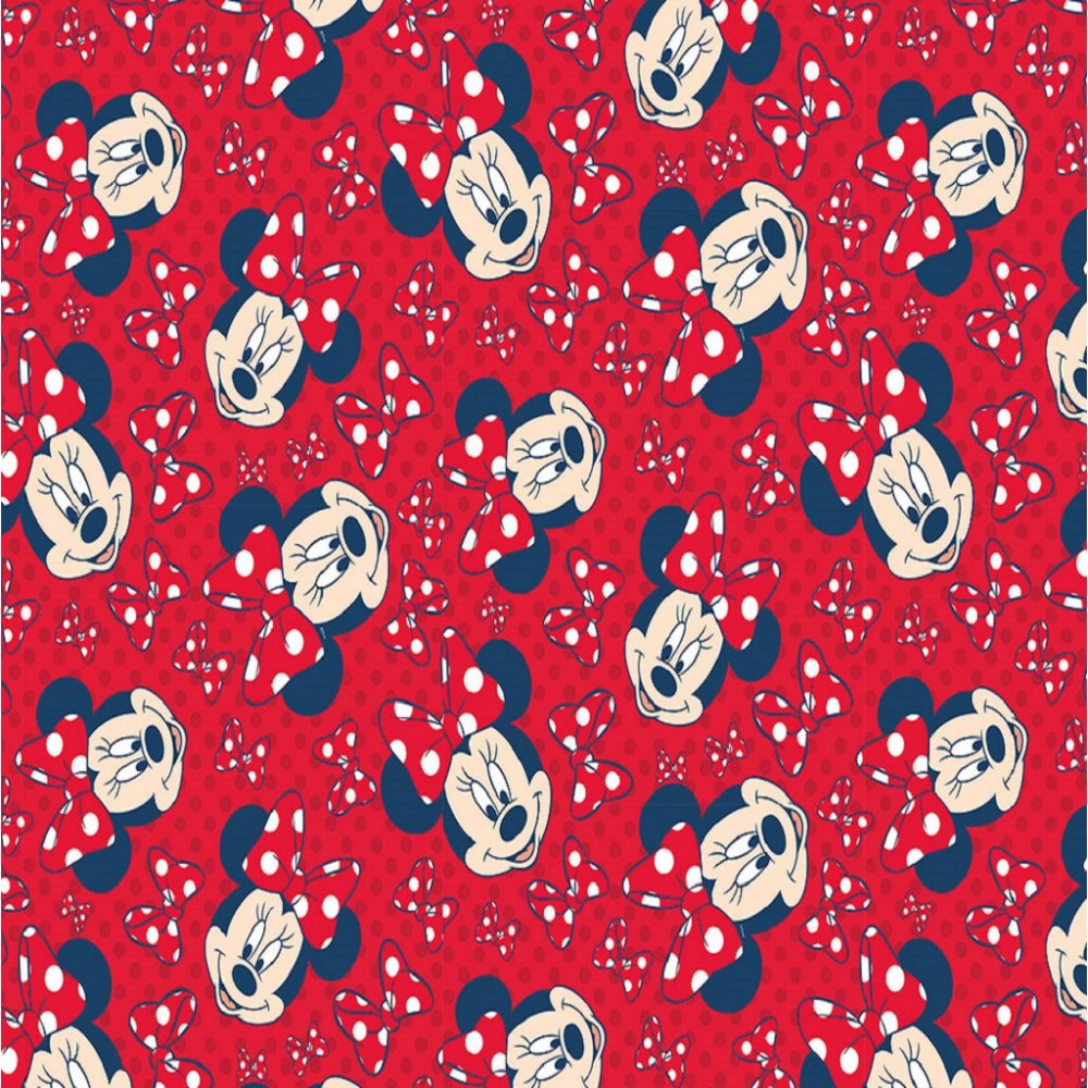 Graham & Brown Disney Minnie Mouse Red Bow Childrens Kids Wallpaper 70 ...