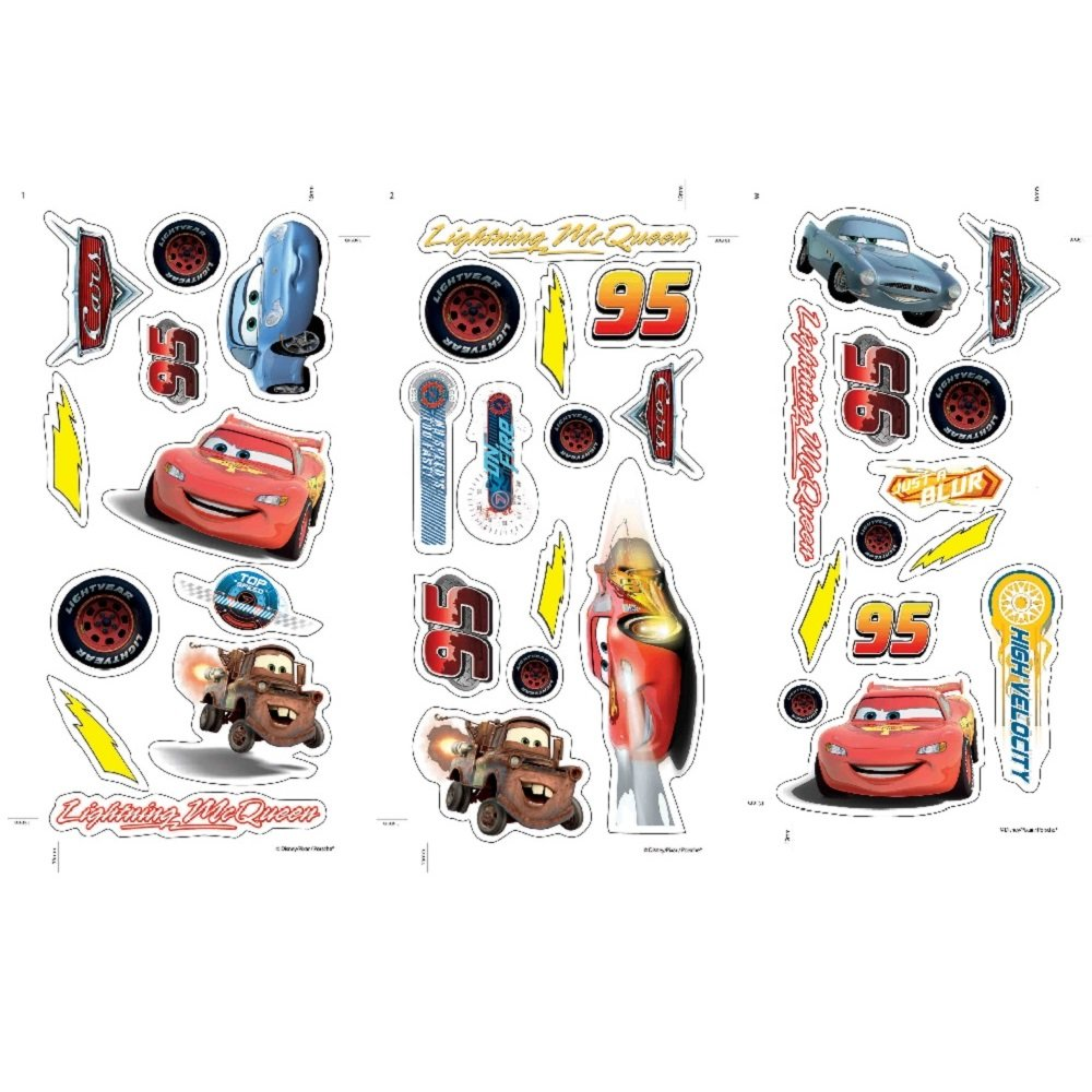 Home › Disney › Disney Pixar Cars Wall Stickers 70-003