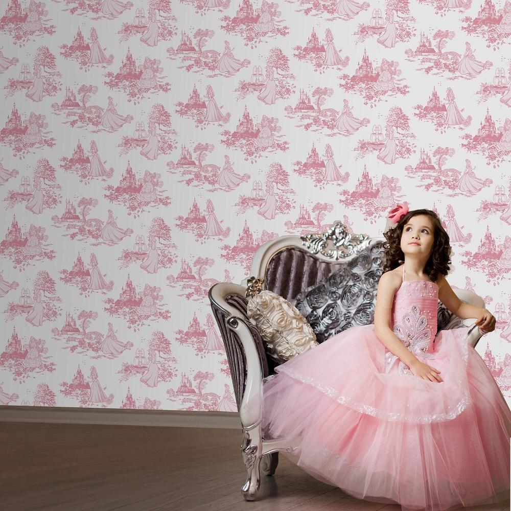 Graham Amp Brown Disney Princess Toile Pink Childrens Kids