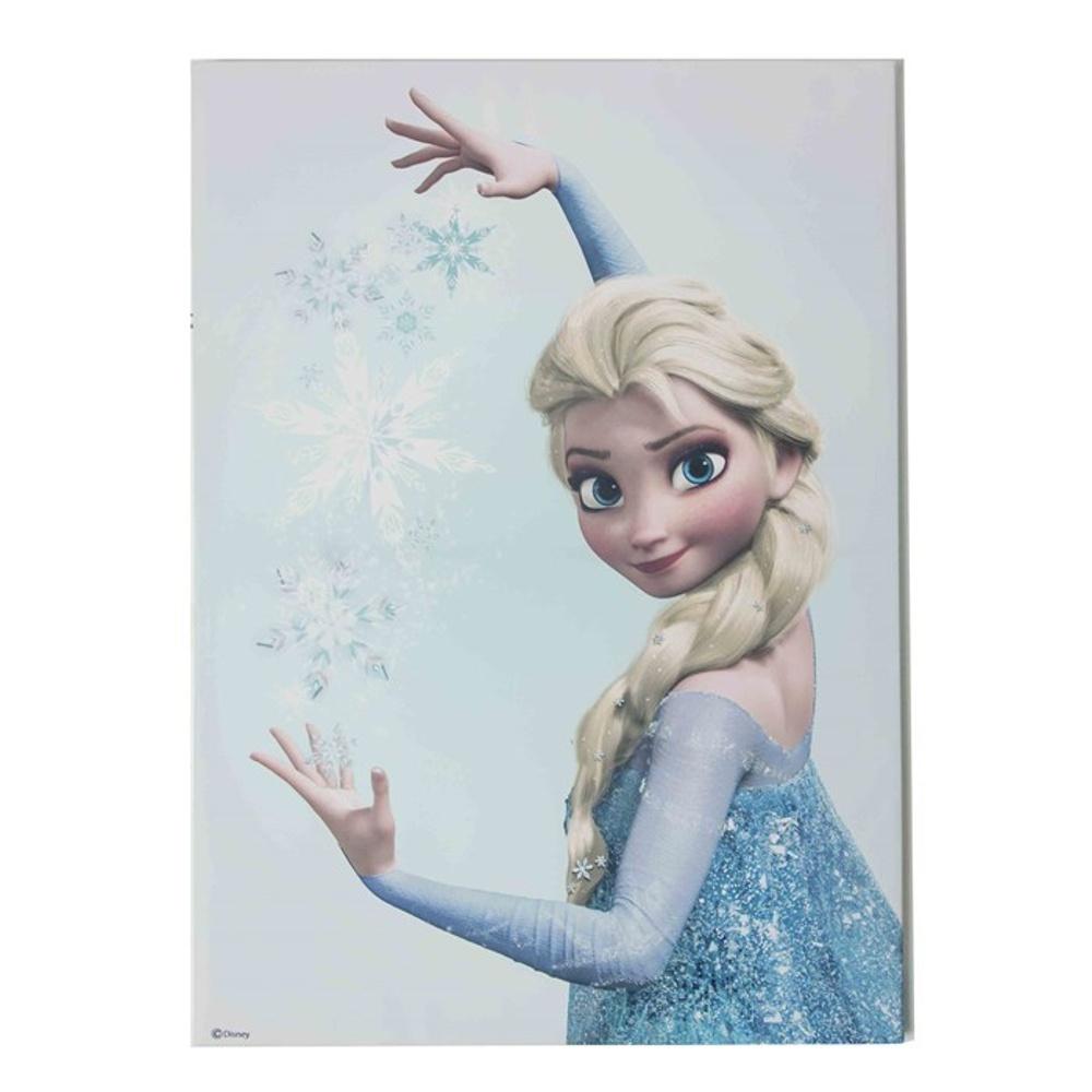 Frozen Wall Art disney frozen snow queen elsa printed canvas wall art 70-548
