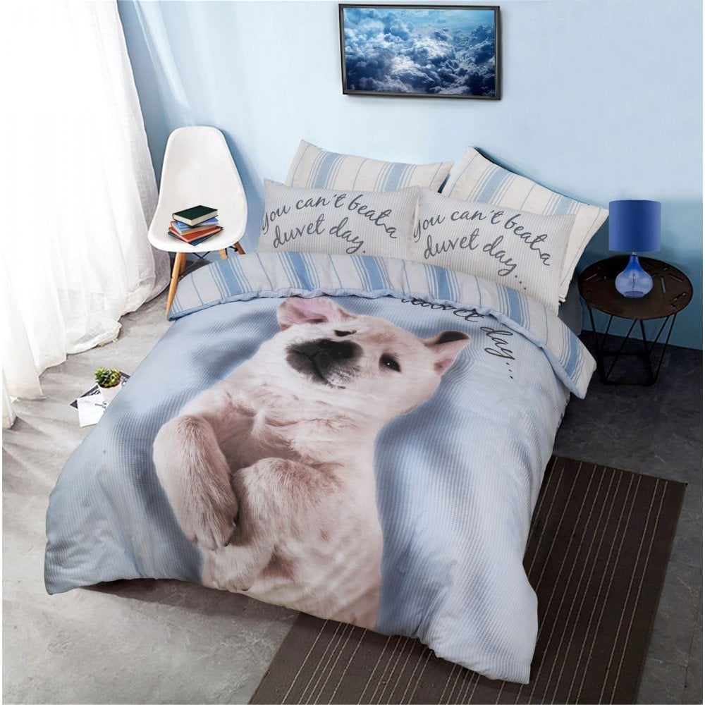Duvet Day Dog Duvet Set Quilt Cover