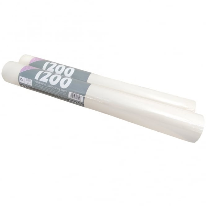 Erfurt 1200 Lining Paper Professional Quality Paintable Wallpaper x 2 Rolls